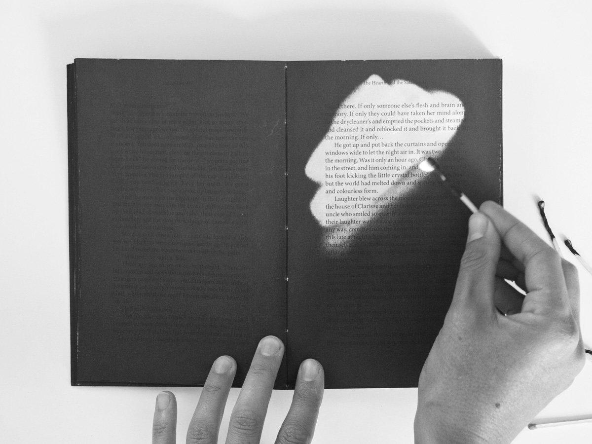 Fahrenheit 451 – Heat-sensitive Artist Book